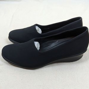 Ecco Felicia Stretch Black Loafer 39